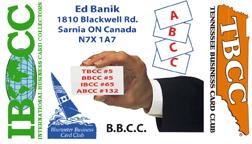Ed Banik Business Card