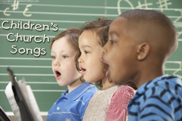 Children's Church Songs - I share some songs I remember singing when I was a child in and went to Children's Church.