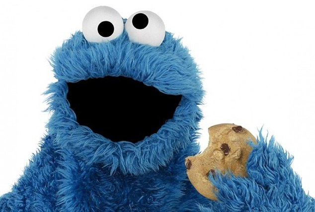 Cookie Monster Day - That big blue cookie-loving monster from Sesame Street has his own day! #CookieMonster #CookieMonsterDay #SesameStreet