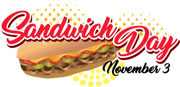 Sandwich Day - here is a day for that beloved sandwich we eat, no matter what the sandwich is. #SandwichDay