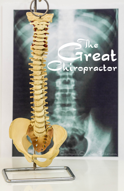 The Great Chiropractor - Not only is Jesus the Great Physian and Great Shephered. He is also The Great Chriopractor.
