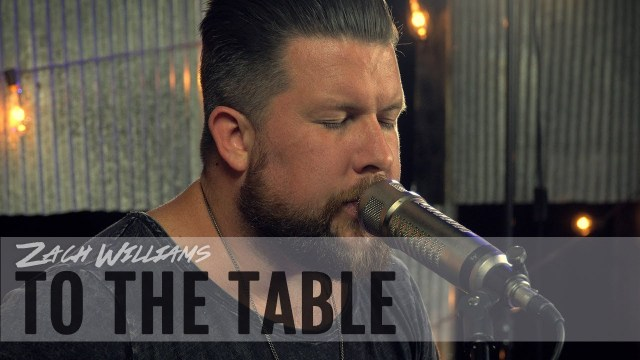 To the Table by Zach Williams - This is a music video of Zach Williams preforming his song To the Table with Way-FM. #TotheTable #ZachWilliams