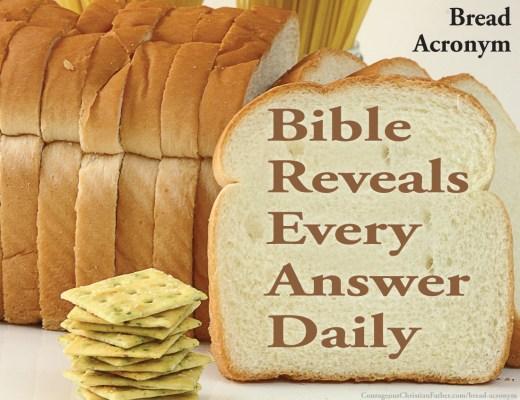 Bread Acronym