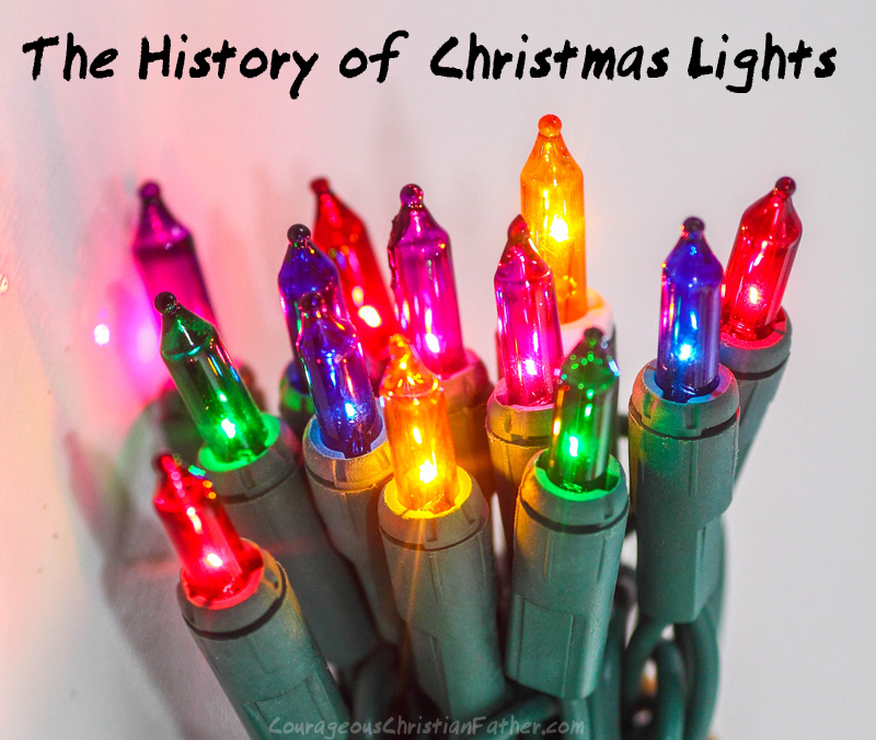 The History of Christmas Lights - Holiday celebrants employ Christmas lights in various ways. Certain individuals may be content to hang lights on their Christmas trees and call their decorating complete. Others may get their holiday jollies by making sure each square inch of their home is covered in twinkling lights. Still, other people prefer the more subdued effect of lights framing one picture window of the house.
