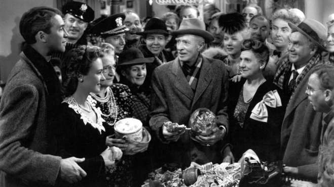 "It's A Wonderful Life - Behind the Scenes - This is one of the top Christmas movies. Check out these behind the scenes facts to the popular Christmas movie, ""It's A Wonderful Life"". #ItsAWonderfulLife #WonderfulLife"