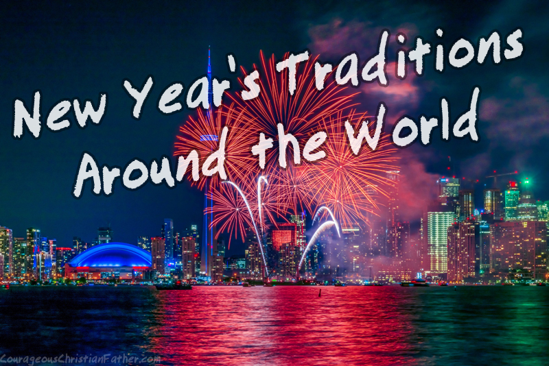 New Year's traditions around the world - New Year's Eve and New Year's Day traditions vary across the globe. The following is a look at the unique ways people ring in the new year throughout the world. #NewYears