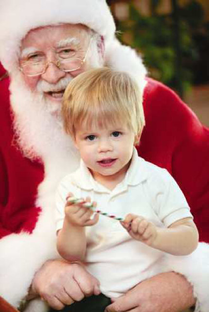 Tips for visiting a store Santa - Discover the ways to make a visit with Santa a pleasant experience.