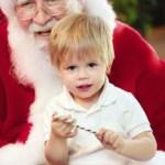 Tips for visiting a store Santa