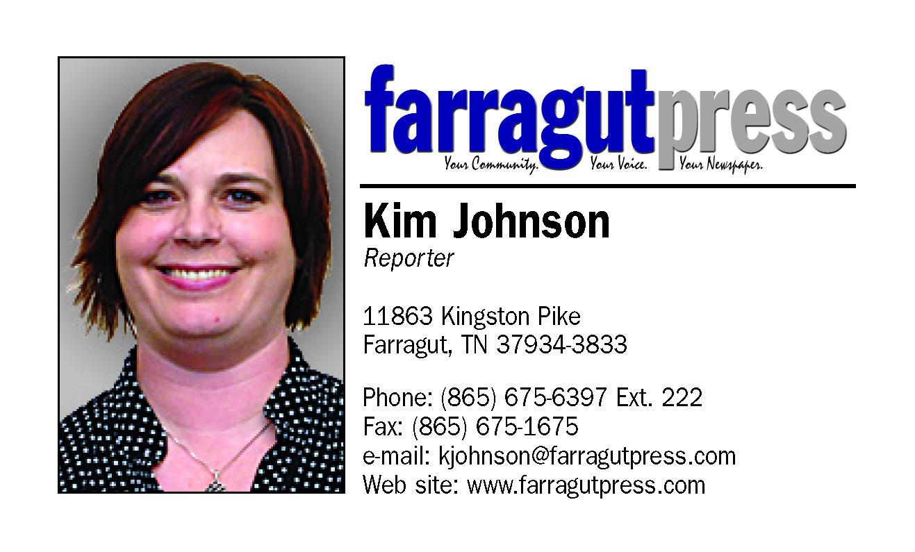 Farragut Press Business Card