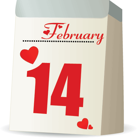 Why is Valentine's Day celebrated on February 14th?