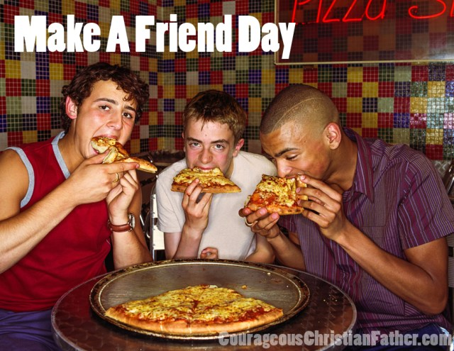 Make a Friend Day - You can't have too many friends ... Or Can You? #MakeAFriendDay