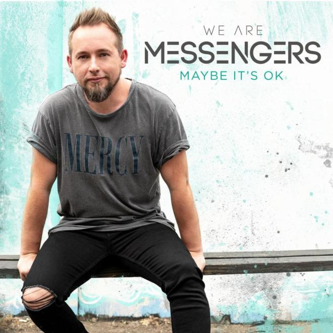 Maybe It's Okay song by We Are Messengers which reminds me of a sermon by Jimmy Inman of True LIfe Church on We are a place where it is okay not to be okay, but not okay to stay that way.