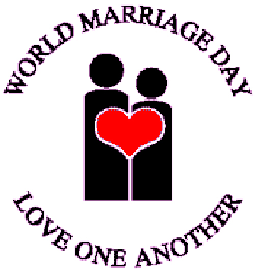 World Marriage Day - Everyday should be Marriage Day, we should celebrate our marriages every day, not just on our anniversary or special marriage holidays. But every day!