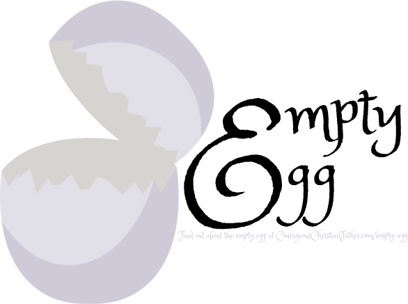 An Empty Egg - Easter time, we hear a lot of about eggs and egg hunts. Let's say you find an egg that is empty, as in an egg without a prize or anything in it. What does that represent?