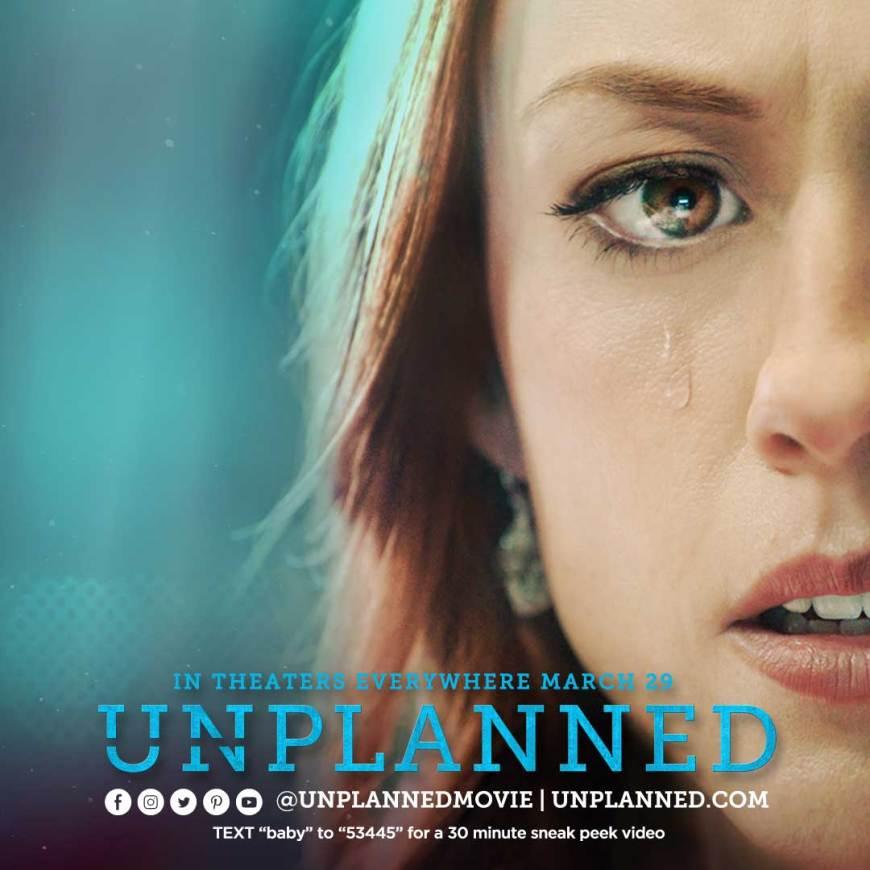 Unplanned is the inspiring true story of one woman's journey of transformation. #UnPlanned #UnPlannedMovie