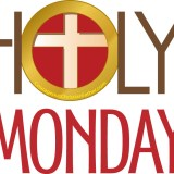 Holy Monday is the Monday just before Easter. This day is also known as Great and Holy Monday. It is part of the Holy Week (Passion Week). This is the week that leads up to the Death, Burial and Resurrection of Jesus Christ. #HolyMonday