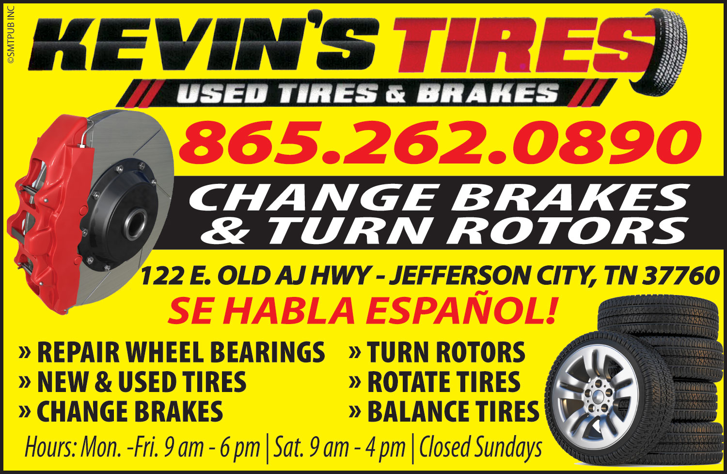 Kevin's Used Tires