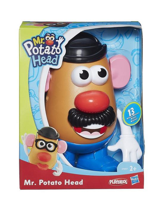 National Mr. Potato Head Day - That fun face changing potato toy has its own day. The face possibilities are endless! #MrPotatoHead #MrPotatoHeadDay