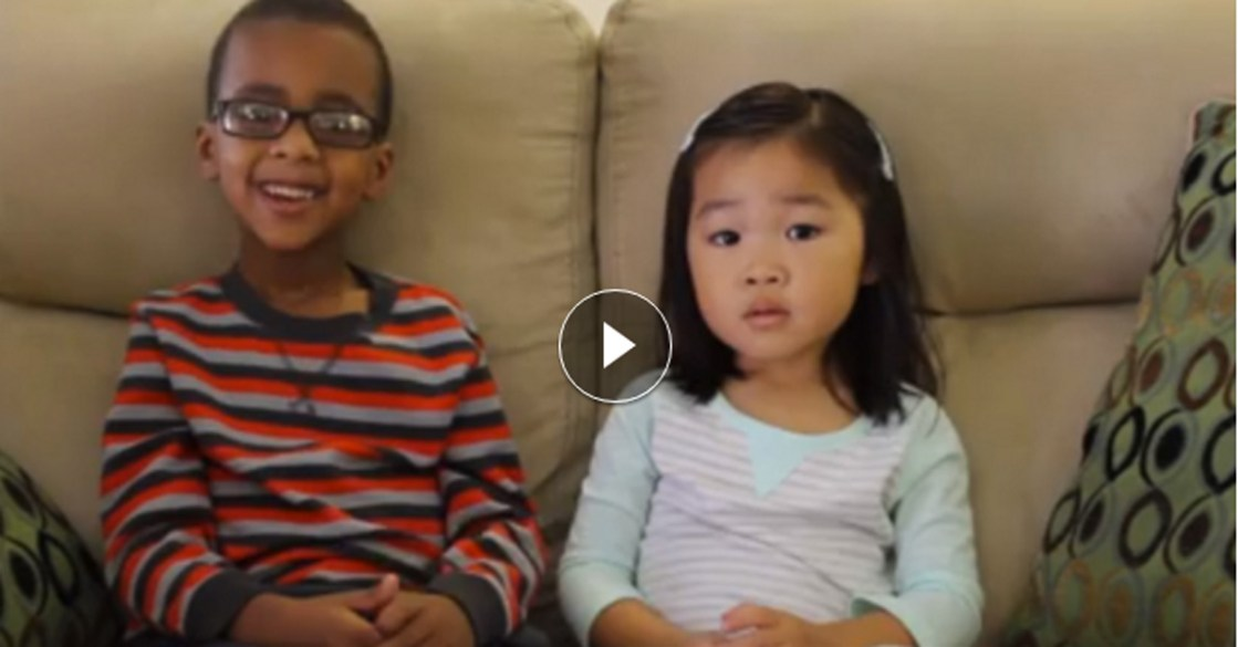 Easter Story told by Two Kids Levi and Lia Mullen