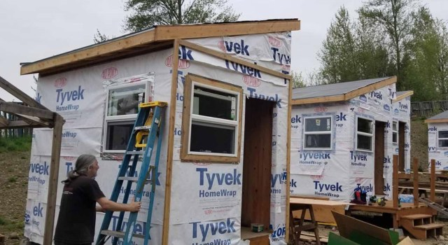 Church helping homeless with Tiny House Village - I'm glad to see churches reaching the people where they are and being the church.