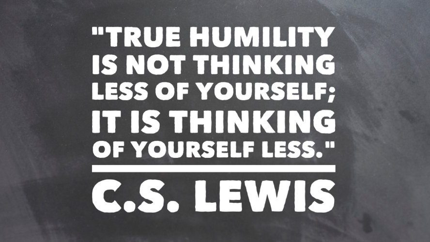 True Humility Quote