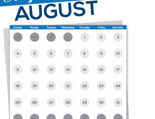 """The month of August is named in honor of Augustus Caesar and previously went by the name """"Sextilis."""" #August"""