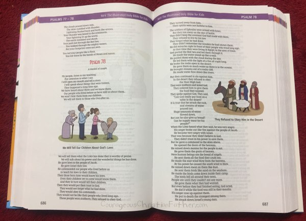 The Illustrated Holy Bible For Kids Inside
