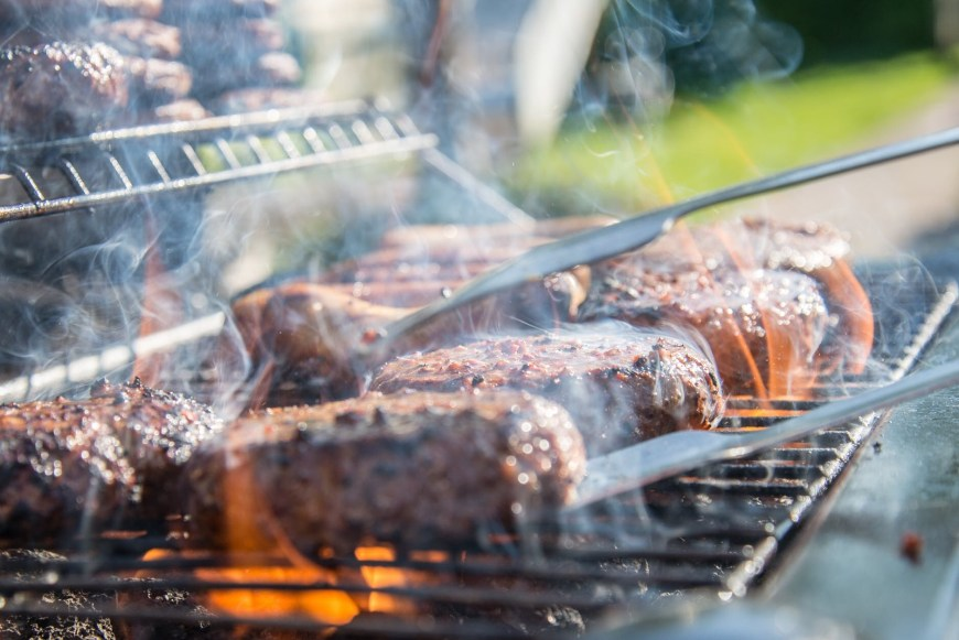 """Why you should flip grilled meats more than once - Many people are familiar with the conventional grilling wisdom that,  when cooking meats, it's best to """"only flip once."""" This has led backyard  grillers to resist the urge to flip their foods in the name of flavor.  But that conventional wisdom may not actually be that wise."""