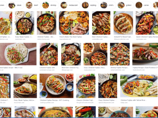 Screen Shot - Google Images Search Fajitas - National Fajita Day - a Tex-Mex dish usually with grilled meat on a type of tortilla shell. This is a day for us to celebrate that yummy food item. #FajitaDay