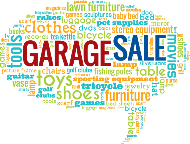 How to Get the most money out of your garage sale with these retail tricks - It is that time of year again, garage sales and yard sales, etc. So why not share some tips and tricks to have a successful one? #GarageSale