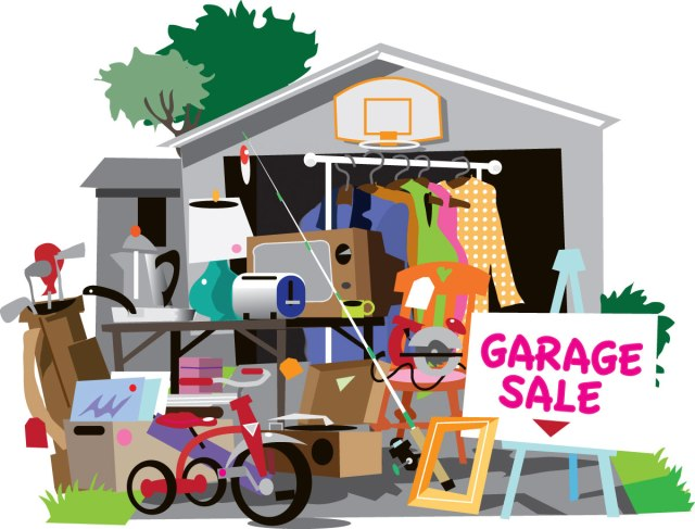 Garage Sale Day - a day set aside for those who like to have or shop at a garage sale. #GarageSaleDay