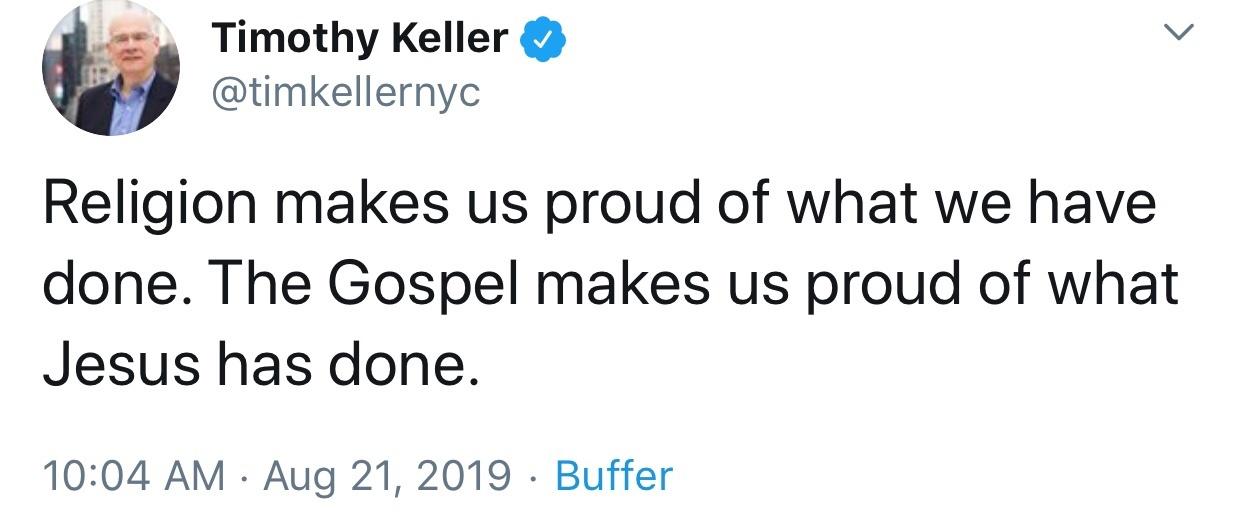 Religion makes us quote
