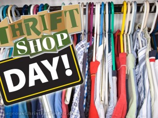 Thrift Shop Day #ThriftShopDay