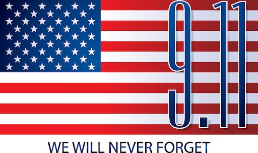 Never forget 9/11 - Patriot Day