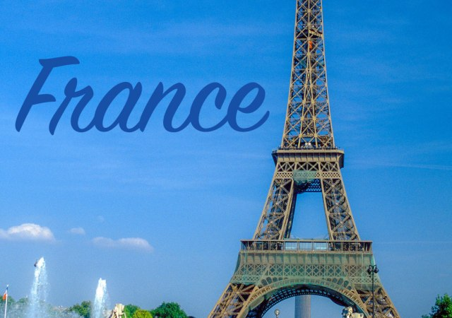 France - is a country that I would like to one day visit. #France