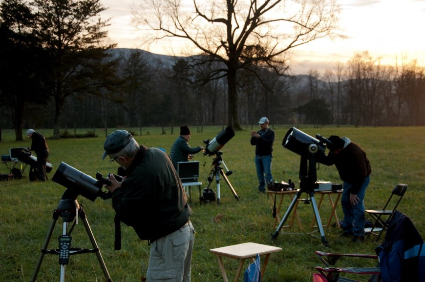 Park Hosts Star Gazing Event at Cades Cove - Great Smoky Mountains National Park is hosting a stargazing program in Cades Cove