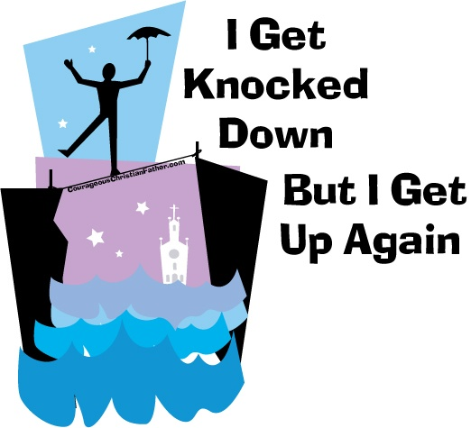 I get knocked down but I get up again. When the devil knocks you down, you can always get back up again. God is always stronger and God will always pick you up. #BGBG2