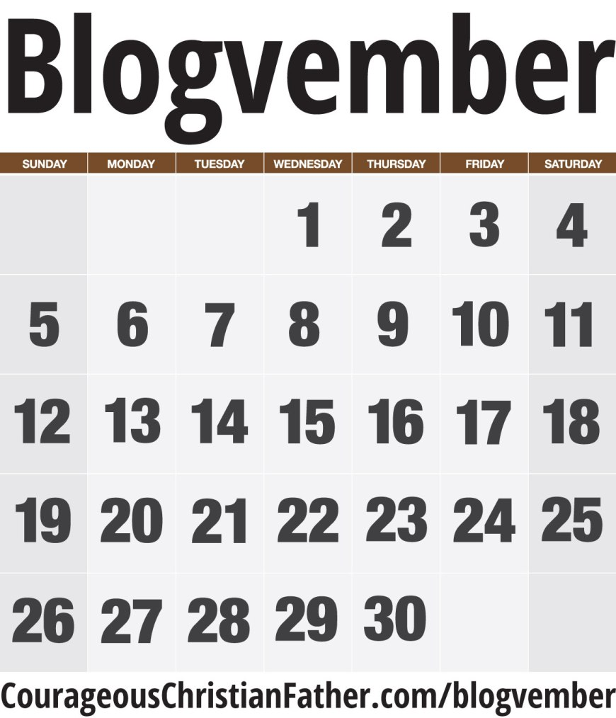 Blogvember a time to get blogging! Come on all you Christian Bloggers and Blog for the LORD! #Blogvember