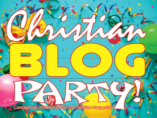 Christian Blog Party! This is for you all of my Christian Bloggers out there! Introduce yourself in the comments and share a link to a favorite blog post of yours!