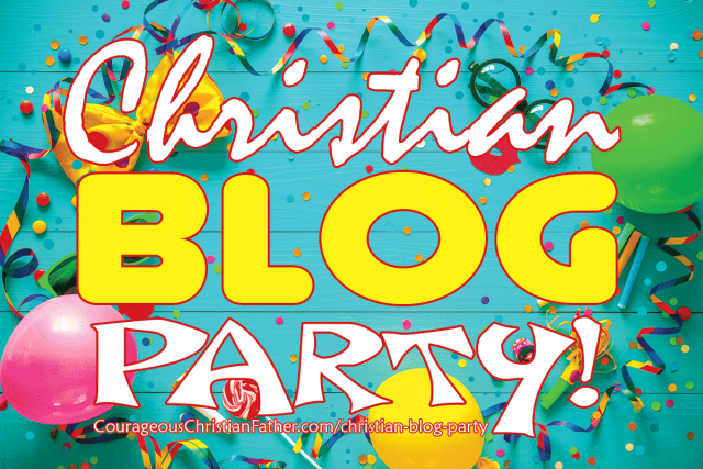 Christian Blog Party! This is for you all of my Christian Bloggers out there!