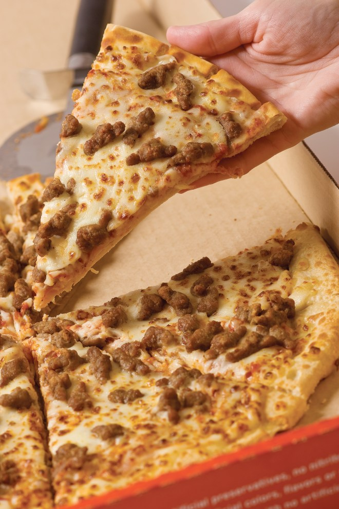 National Sausage Pizza Day - Yes there is a day for you sausage pizza lovers! So you one topping sausage pizza lovers, this day is for you. Go out and enjoy a sausage pizza! #SausagePizza #SausagePizzaDay