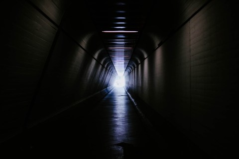 The Light at the End of the Tunnel - That might be a good thing or a bad thing, depending on what that light is at the end of that tunnel.