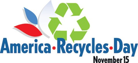 America Recycles Day - a day to help remind us to help keep American beautiful by recycling. #AmericanRecylesDay #BeRecycled
