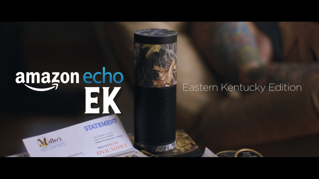 Amazon Echo EK (Eastern Kentucky Edition) - Are you sick and tired of being misunderstood by your intelligent personal assistant because of your Eastern Kentucky accent?