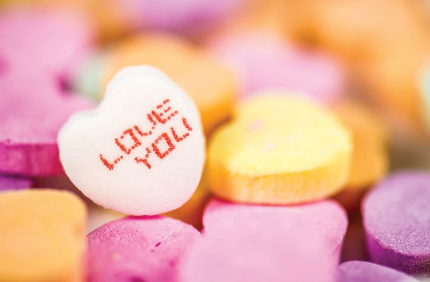 """Candy Hearts, Popular candies share sweet words of love - There are many ways to say, """"I love you,."""" For Valentine's Day celebrants, various sentiments may be expressed with candy - particularly candy hearts. #CandyHearts"""