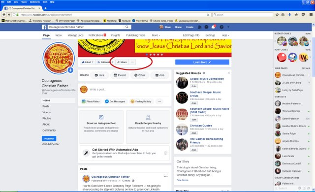 How to Gain Facebook Page Likes - Step by step on a couple of ways to gain more Facebook Page Likes with screenshot images. #SocialMedia #Facebook #FacebookPages