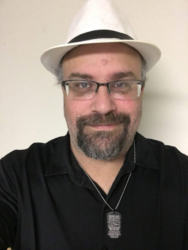 Hat Day - Steve Patterson of Courageous Christian Father wearing different fedora style hats.