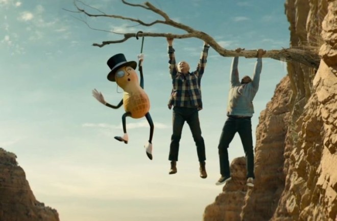 Mr. Peanut 104-Years-Old dies in the upcoming Super Bowl 2020 Commercial that has been leaked. #SuperBowl2020 #MrPeanut #RIPMrPeanut
