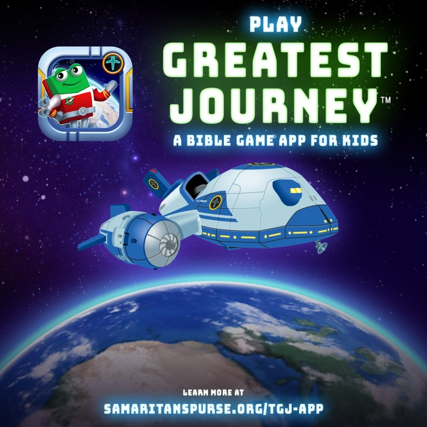 Samaritan's Purse Releases Free Kids' Bible Game App - Christian parents now have a new resource to help their kids learn about the Bible based on a discipleship program that's already leading millions of children to Christ all over the world.