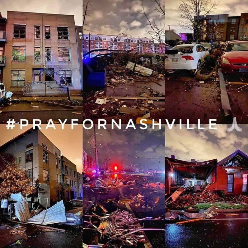 Pray for Nashville #PrayforNashville